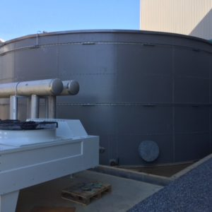 Epoxy Coated Steel Bolted Tanks