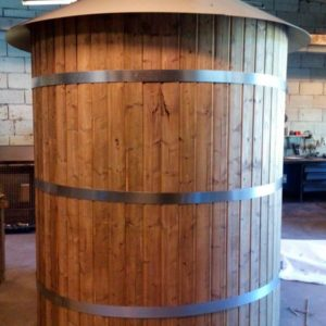 Wood, Wood Wrapped, Veneered, Concrete, and Brick Tanks