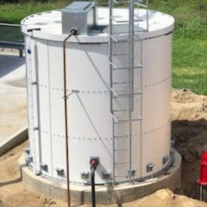 Powder Coated Steel Bolted Tanks